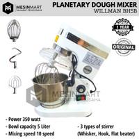 Planetary Mixer WILLMAN 5L 5 Liter Pengaduk Adonan Roti Kue Serbaguna