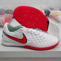 Sepatu Futsal Nike Tiempo Legendi White Red ic
