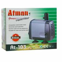 Atman AT-103 Pompa Celup Aquarium/Kolam Submersible Water Pump,bagus