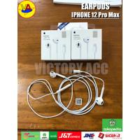 Earpods Apple iPhone 12 Pro Max Original Lightning Earphone Handsfree
