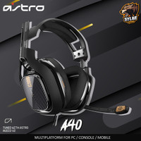 Astro A40 Gaming Headset with Detachable Microphone