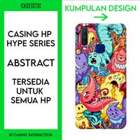 Casing HP Custom (Tersedia Untuk Semua HP) Abstract - Hype Series - Anti-Crack Case, Doff