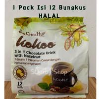 Chek Hup Kokoo 3 in 1 Hot Chocolate Drink Minuman Coklat Malaysia