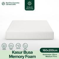 Zinus® Kasur 20cm Green Tea Memory Foam - Ukuran Queen