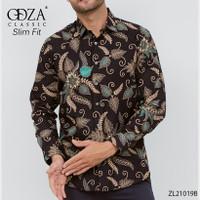 Kemeja Pria Baju Batik Panjang Pria Baju Pesta Modern Terkini D608