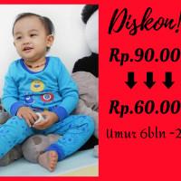 Piyama Anak Monster Baju Tudur Anak Baju tidur anak - S7BLN