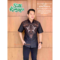 Baju Batik Pria ANDHARU By Kanaya Lapis Furing Halus