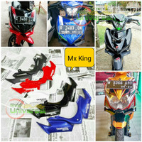 Winglet Mx King 150 Aksesoris Motor - Hitam