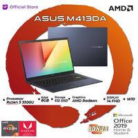 Asus M413DA VIPS551   Ryzen 5 3500 8GB 512ssd W10+OHS 14FHD