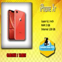 Apple iPhone XR 128GB Garansi Distributor 1 Tahun