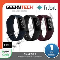 Fitbit Charge 4 Activity Tracker - Garansi Resmi Fitbit Indonesia - Black