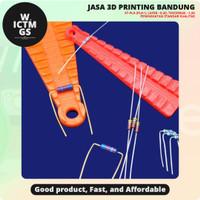 Alat Tekuk Penekuk Resistor Lead Forming 3D Print Bandung WICTMGS