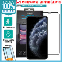 Tempered Glass iPhone 11 Pro Max XS Max XS XR X Tyrex 3D Full Cover