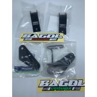 1paket Bracket Breket Fairing Fering Bawah Ninja RR Old Zx Original