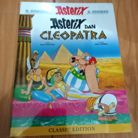 Komik lebar serial asterix dan Cleopatra classic edition