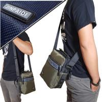 Tas Sling Bag Pria Jinpaidi-0050 Polyester 2 In 1 Import