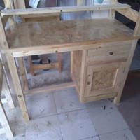 mija kantor /meja kerja kayu jati belanda