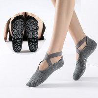 Kaos Kaki Yoga Anti Slip Toe Dance Socks Balet Gym Fitness Sock F849