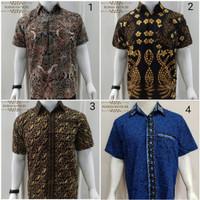 Kemeja Batik Pria Lengan Pendek Murah Baju Batik Cowok Batik Couple