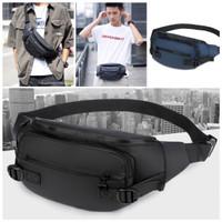 Waistbag pria import waterproof original tas selempang slingbag