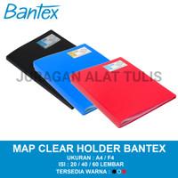 MAP CLEAR HOLDER / FOLDER FILE DOCUMENT KEEPER BANTEX A4/F4 20/40/60