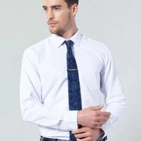 baju kemeja lengan panjang pria putih polos premium terlaris