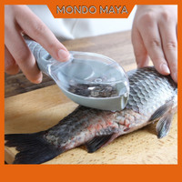 2 in 1 Pengikis Pembersih Pengupas Sisik Ikan Ampuh Bersih Tuntas