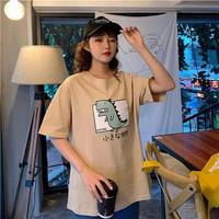 Kaos Baju Jurassic Park aesthetic tumblr tee 90s oversize unisex murah