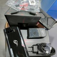 Second Asus ROG Phone 3 12/256 12GB 256GB Black Resmi Indonesia