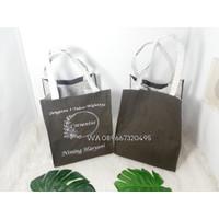Tas Souvenir Tote Bag Kanvas Custom Nama Desain