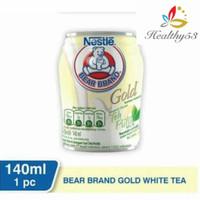 susu beruang bear brand gold white tea 140 ml