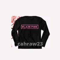 t-shirt kaos lengan panjang long Sleeve BLACKPINK BLINK kpop lucu