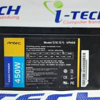 PSU PURE 450W 6 PIN ANTEC VP450 SECOND ORI