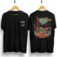 T-shirt Among Wild / Baju Kaos Distro Pria Kaos Pria Kaos Murah combed