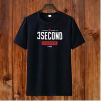 BAJU KAOS DISTRO COTTON COMBED'S 30's - 3second