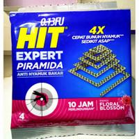 Hit Piramida 4 lembar, hit piramida, obat nyamuk bakar