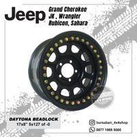 Velg Besi Daytona Beadlock R17 Jeep JK Wrangler Rubicon Sahara 5x127