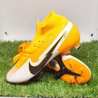Sepatu Bola NIKE MERCURIAL SUPERFLY 7 ELITE FG Orange