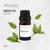 Green Tea Essential Oil / Minyak Aroma Terapi Pure 10ml 10 ml - MUSIM