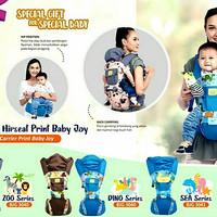 Baby Joy Gendongan Bayi Model Hipseat ZOO Series BJG 3039 /Depan/Duduk