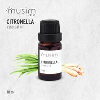 Citronella Essential Oil / Sereh Wangi Aroma Terapi Pure 10ml - MUSIM