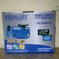 booster tv / power supply antena + remote (merk visalux)