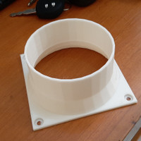 Antminer fan adapter asic 4 inch untuk s9 l3 d7 d9 a3 d9 t9 v9