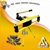 (AS) alat tekuk pipa hidrolik 1/2 - 2 inch hidrolik pipe 12 ton 2
