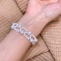 Mozaic Pattern Bracelet / Gelang / Handmade