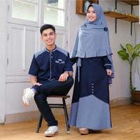 baju couple pasangan muslim keluarga terbaru casual murah terlaris