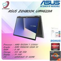 ASUS ZENBOOK FLIP UM462DA-AI701T R7-3700U 8GB 512GB VEGA 10 14FHD W10
