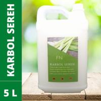 Karbol Sereh 5 liter Antibakterial Minyak Sereh Murni Anti Serangga