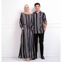 baju muslim wanita couple etnik casual/Muslim family/Pakaian lebaran