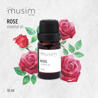 Rose Essential Oil / Minyak Mawar Aroma Terapi Pure 10ml 10 ml - MUSIM